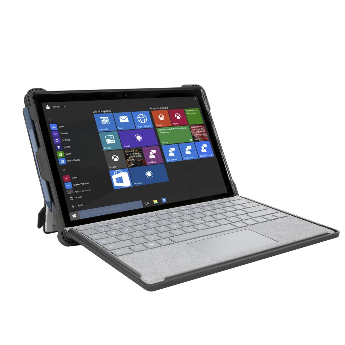 Targus Safeport Rugged Case For Surface Pro 2017 And 4