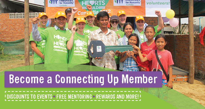 Become a Connecting Up Member for your not-for-profit to access discounts and more