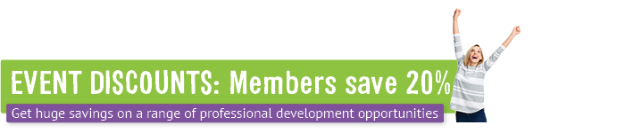 Event discounts: Members save 20%