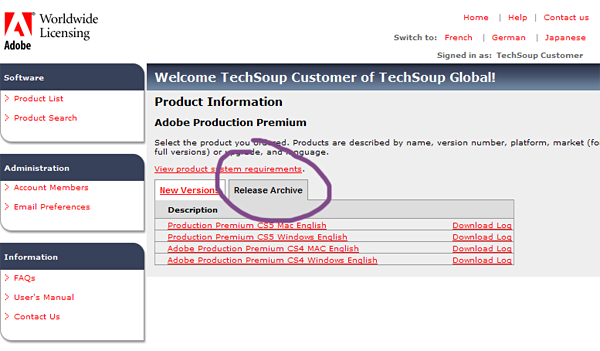 Adobe Download and Installation Guide | TechSoup Vietnam